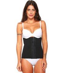 cinta love secret corset bio shape preta - preto - feminino - poliamida - dafiti