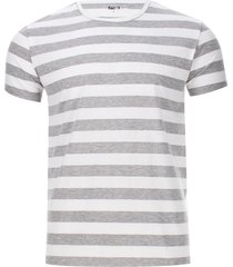 camiseta rayas grises color gris, talla xs