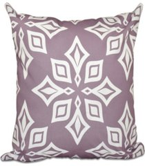 beach star 16 inch light purple decorative geometric throw pillow
