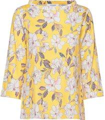 blouse long-sleeve blouse lange mouwen geel gerry weber edition