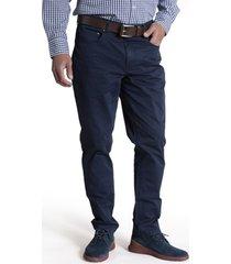 pantalón five algodón azul rockford