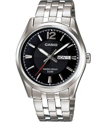 reloj kcasmtp 1335d 1a casio-plateado