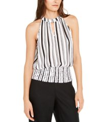 inc striped halter top, created for macy's
