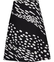 antoisa kottarainen skirt knälång kjol svart marimekko