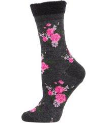 rosie chenille cuff women's crew socks