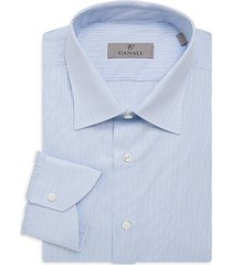 modern-fit stripe dress shirt
