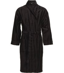 bathrobe ochtendjas badjas zwart jbs