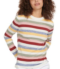 barbour seaview cotton striped sweater