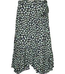 asbjorg knälång kjol svart fall winter spring summer