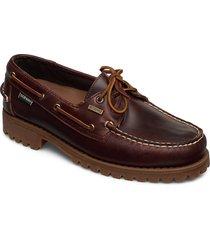 ranger waxy waterproof båtskor skor brun sebago