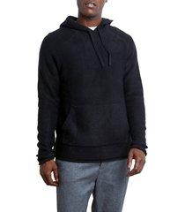 men's rails matador sweater hoodie, size x-large - black