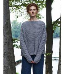 sweter wełniany oversize