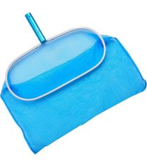 aqua first aluminum deep pool bag rake with chemical-resistant mesh