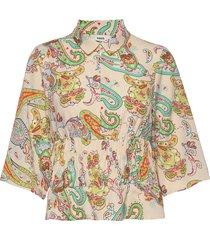 neo paisley bornella blouses short-sleeved multi/patroon mads nørgaard