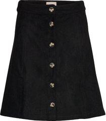 kamma skirt kort kjol svart soft rebels