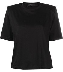 t-shirt with padded shoulders