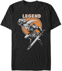 nintendo men's legend of zelda full moon link short sleeve t-shirt