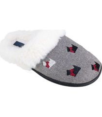 rachel rachel roy women's scottie dog scuff slipper