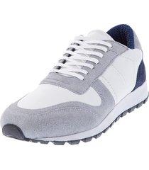 grey dust sneakers // white  grey