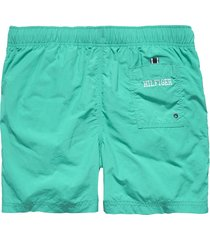 tommy hilfiger zwembroek logo short lake blue