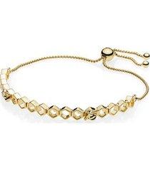 bee and honeycomb pandora shine bracelet