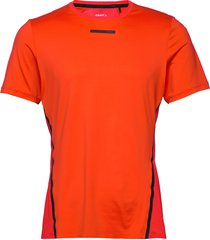 vent mesh ss tee m t-shirts short-sleeved orange craft