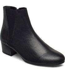 ankle boot shoes boots ankle boots ankle boot - heel svart gabor