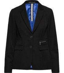 blazer short single breasted 1 blazers business blazers zwart betty barclay