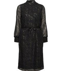 bessa dress knälång klänning svart minus