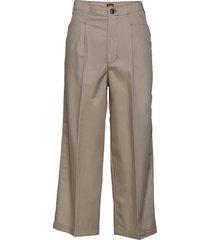 frisco wijde broek beige lee jeans