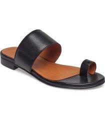 sandals 18701 shoes summer shoes flat sandals svart billi bi