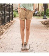 postcard chino shorts