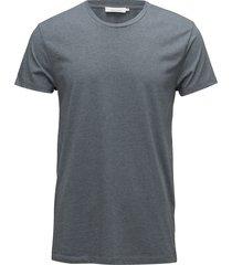 kronos o-n ss 273 t-shirts short-sleeved grå samsøe samsøe