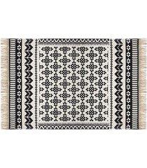 dywan bawełniany 120x170 orient czarny