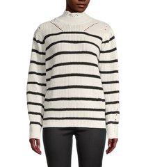 avantlook women's striped sweater - stripe - size s