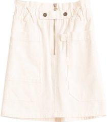 mara skirt in white