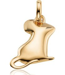 gold chinese zodiac ronnie the rat pendant charm