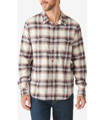 lucky brand men's redwood work-wear shirt