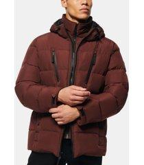montrose men's down filled mid length puffer jacket
