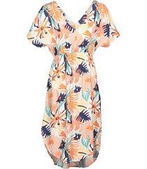 lange jurk roxy flamingo shades