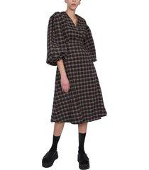 ganni wallet dress
