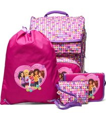 maxi school bag set accessories bags backpacks multi/patroon lego bags