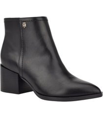 tommy hilfiger jetz booties women's shoes