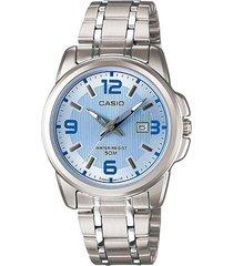 reloj casio dama modelo modelo ltp 1314d 2a  calendario original