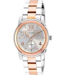 reloj invicta modelo 21689 multicolor mujer