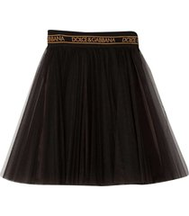 dolce & gabbana black skirt
