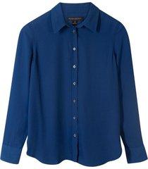 blusa dillon classic azul banana republic