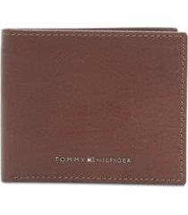 tommy hilfiger men's walt leather rfid wallet