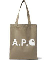 a.p.c. e carhartt handbags