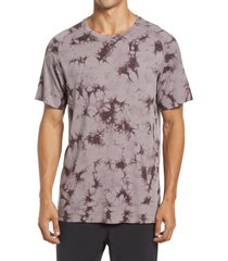 zella tie dye men's seamless t-shirt, size xx-large in grey sparrow at nordstrom